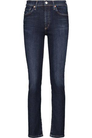 Citizens of Humanity Jeans ajustados Skylar de tiro medio