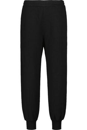 Alexander McQueen Pantalones de chándal algodón con logo