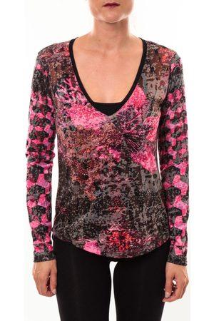 Custo Barcelona Camiseta manga larga Top Bambi Luxurious rose para mujer