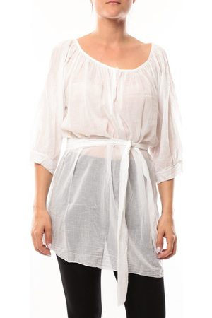 De Fil En Aiguille Túnica Robe JL Blanc para mujer