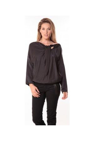 Sack's Mujer Blusas - Blusa Blouse Bow Noire para mujer