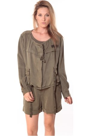 Sack's Mujer Blusas - Blusa Veste Woman Kaki 21150088 para mujer