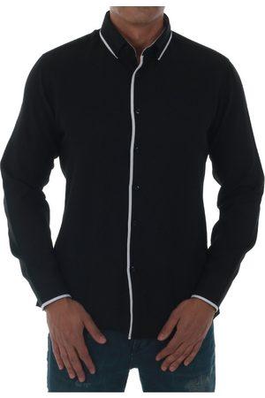 Sz Collection Man Camisa manga larga SZM06433 para hombre