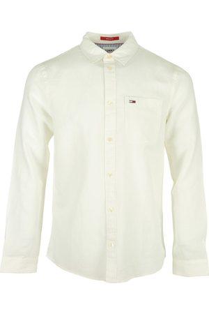 Tommy Hilfiger Camisa manga larga Linen Blend Shirt para hombre