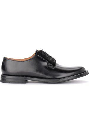 Church's Zapatos Mujer Zapato con cordones Rebecca de piel cepillada negra con para mujer