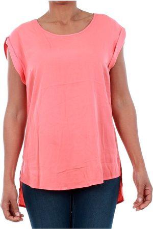 Vero Moda Camiseta tirantes 10185237 VMNEWMAKER SS OPEN BACK TOP LCS GEORGIA PEACH para mujer
