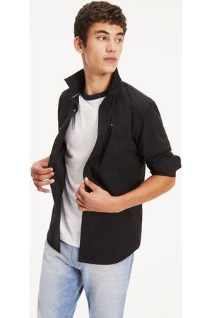 Tommy Hilfiger Camisa manga larga CAMISA ORIGINAL STRETCH BLACK para hombre