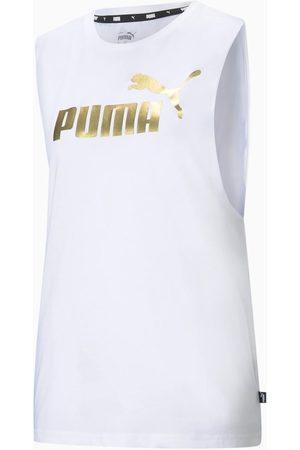 Puma Camiseta tirantes - T-shirt bianco 586889-02 para mujer
