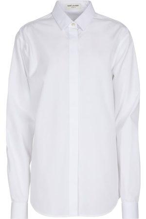 Saint Laurent Camisa de algodón