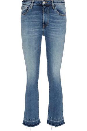 3x1 Jeans cropped de tiro medio
