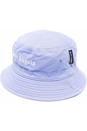 Palm Angels CLASSIC BUCKET HAT LILAC WHITE