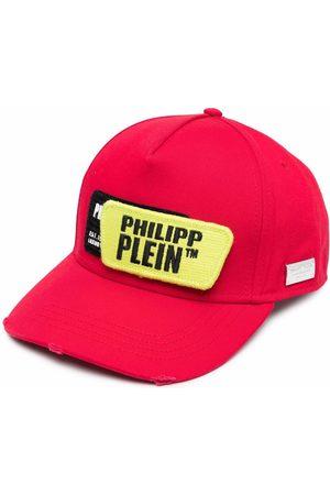 Philipp Plein Gorra con parche del logo