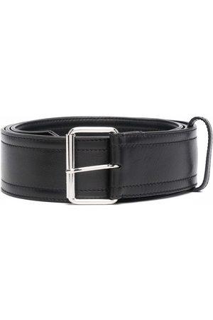 Alexander McQueen Cinturón con correa de cuero