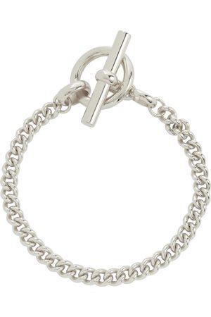 Tilly Sveaas Pulsera Curb Chain Lariat de plata esterlina