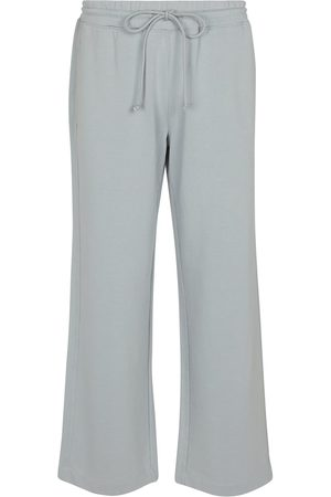 Vince Pantalones de chándal de algodón cropped
