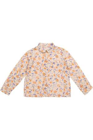 BONPOINT Camisa Pea de sarga de algodón floral