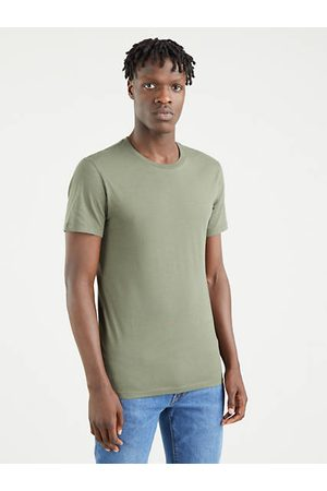 Levi's Slim Fit Crewneck Tees 2 Pack / Dusty Olive and Antarctica