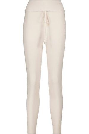 LIVE THE PROCESS Mujer Pantalones de talle alto - Pantalones de chándal ajustados de tiro alto