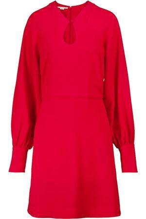 Stella McCartney Vestido midi de crepé