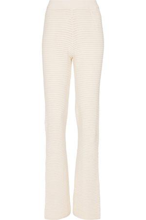 Nanushka Pantalones anchos Bazia en mezcla de algodón