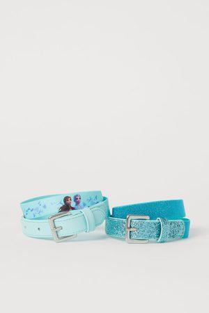 H&M Pack 2 cinturones con motivo