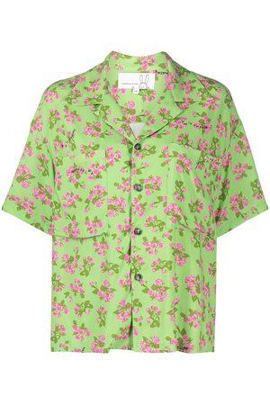 Natasha Zinko Camisa de manga corta con motivo floral