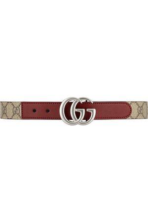 Gucci Niño Cinturones - Cinturón con placa del logo GG