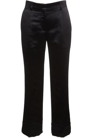 Rochas   Mujer Pantalones Rectos Cropped Duchesse 38