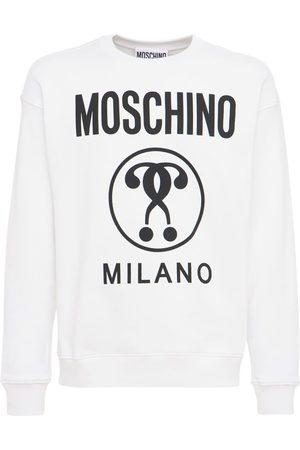 Moschino | Hombre Sudadera De Algodón Con Logo Estampado 44