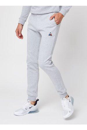 Le Coq Sportif Hombre Pantalones slim y skinny - ESS Pant Slim N°2 M Gris Chiné Clair