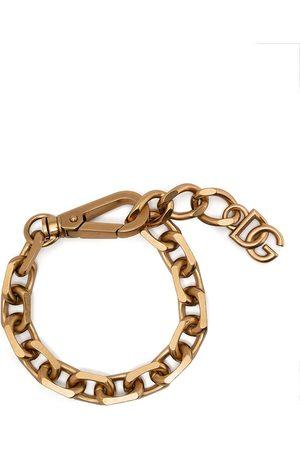 Dolce & Gabbana Hombre Pulseras - Pulsera de cadena con logo