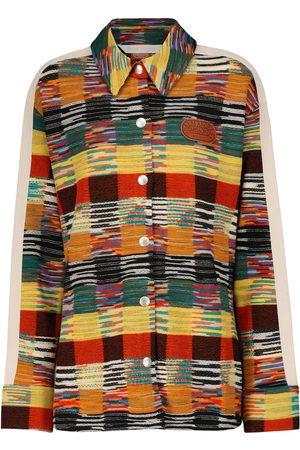 Palm Angels X Missoni camisa en mezcla de lana