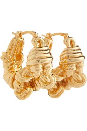 Bottega Veneta Argollas de oro vermeil de 18 ct