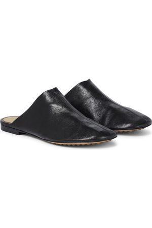 Bottega Veneta Slippers Dot Sock de piel