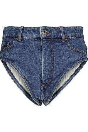 Y / PROJECT Shorts vaqueros