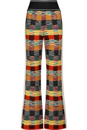 Palm Angels Pantalones x Missoni en mezcla de lana