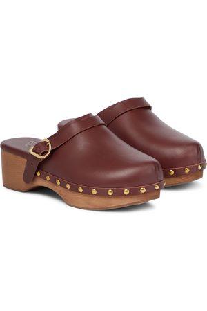 Ancient Greek Sandals Zuecos Classic Closed de piel