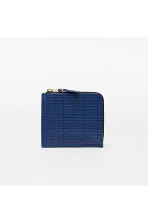 Comme des Garçons Wallets Carteras y monederos - Comme des Garçons Brick Line Blue Wallet Blue