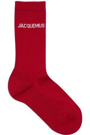 JACQUEMUS   Hombre Calcetines Les Chaussettes De Algodón 39