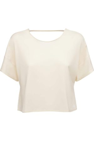 adidas   Mujer Camiseta Cropped De Primeblue Xs