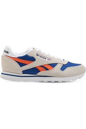 Reebok | Hombre Sneakers Bronze 56k De Piel / Naranja 10.5