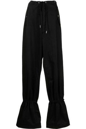 DION LEE Mujer Pantalones slim y skinny - Pantalones tapered con ojales