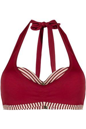 Marlies Dekkers Top de bikini con detalle de rayas