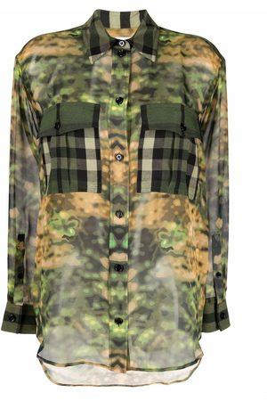 Burberry Camisa con estampado Vintage Check