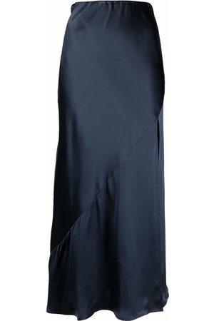 12 STOREEZ Mujer De tubo - Falda midi con abertura lateral