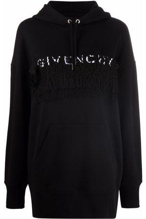 Givenchy Sudadera con logo y encaje