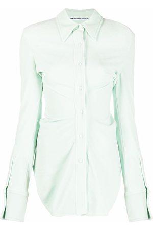 Alexander Wang Mujer Camisas - Camisa de terciopelo