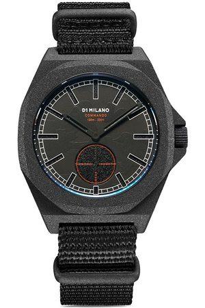 D1 MILANO Reloj Sandblast Camp Commando de 38mm