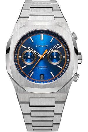 D1 MILANO Reloj Royal Blue Chronograph de 41.5mm