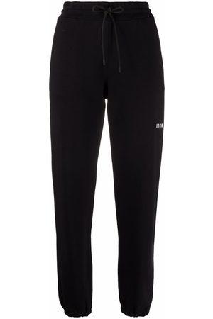 Msgm Mujer Joggers - Pantalones joggers con logo